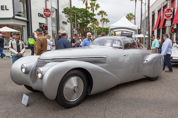 Rodeo Drive Concours d'Elegance 2018