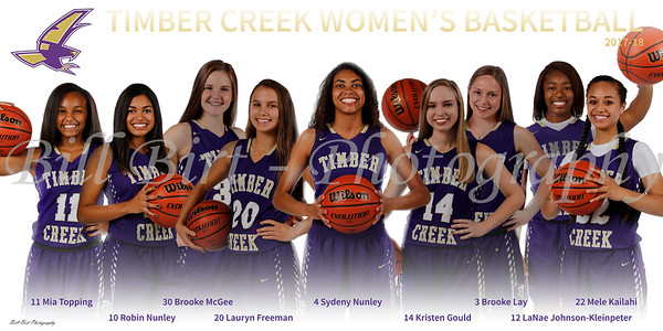 TCHS Girls Basketball 17-18