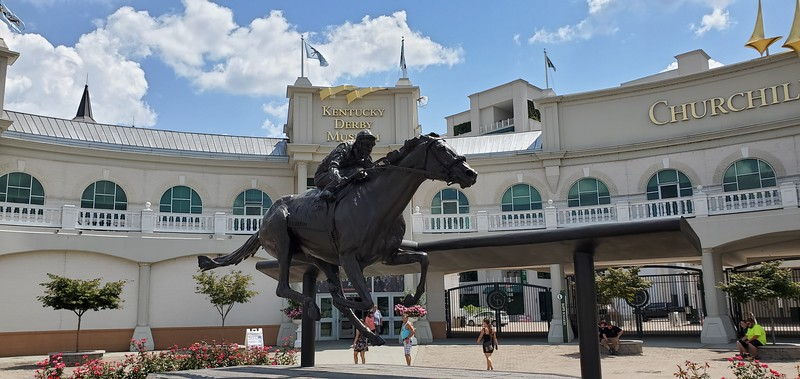 KY, Louisville - Kentucky Derby Museum, 2019