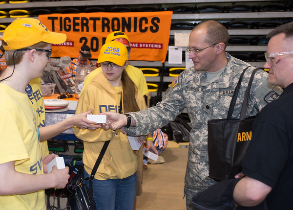 FIRST -  FRC Championship Richmond 3 16/17  ARMY Participation