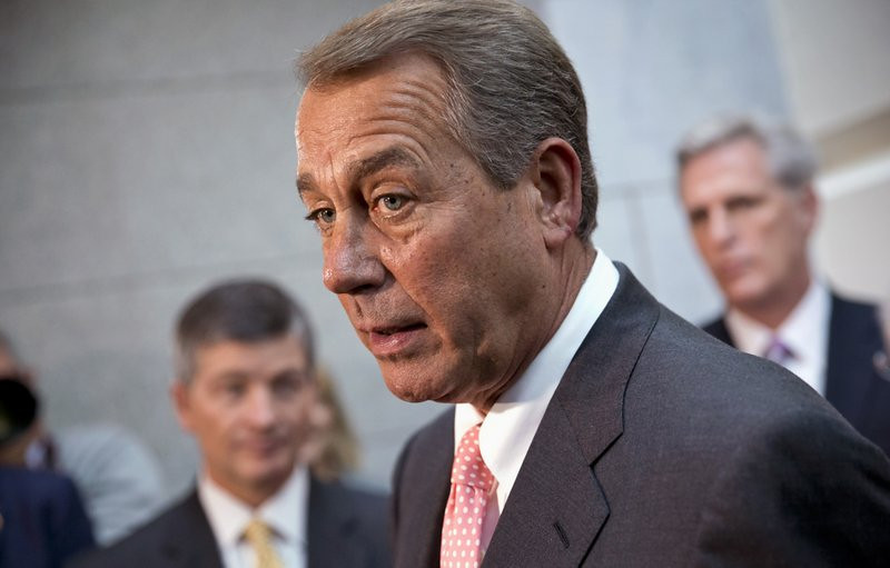 ". <p>6. JOHN BOEHNER <p>Wants six-week increase in debt ceiling so we can have all this fun again around Thanksgiving. (unranked) <p><b><a href=\'http://www.npr.org/blogs/thetwo-way/2013/10/10/231446056/boehner-proposes-deal-on-debt-ceiling-more-talk-on-shutdown\' target=""_blank\""> HUH?</a></b> <p>    (AP Photo/J. Scott Applewhite)"