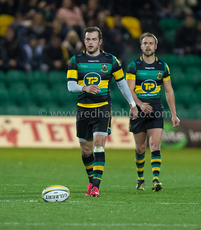 Northampton Saints vs Newcastle Falcons, Aviva Premiership,  Franklin's Gardens, 25 November 2016