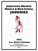 2002-08-01 Johnstown Football Program