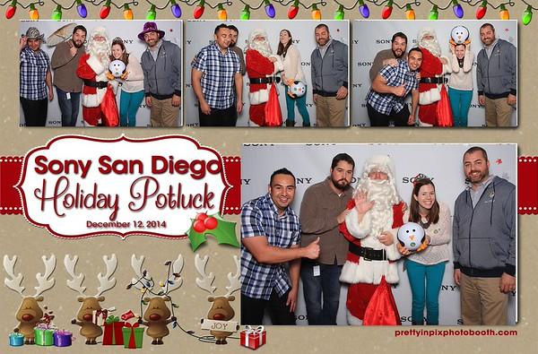 Sony San Diego Holiday Potluck
