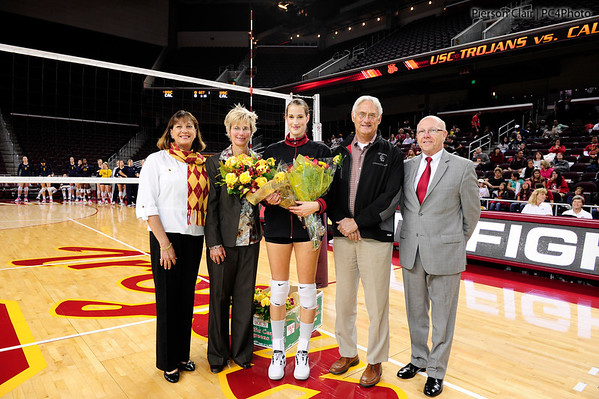 USC Women's Volleyball v Cal 2012