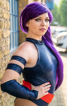 Chloe Shepherd as Psylock - MCM London Comic Con - 25th May 2018