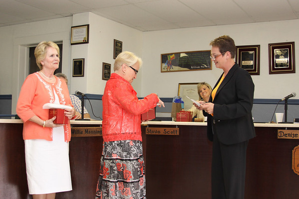 Board of Education honors 2010 retirees