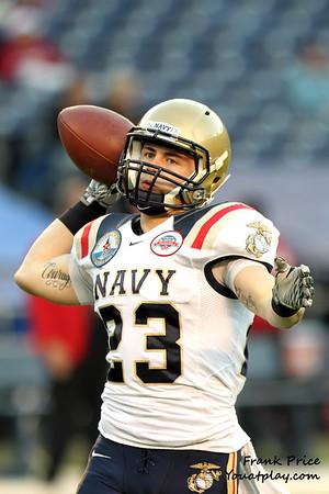 Poinsettia Bowl 2010 Navy vs SDSU