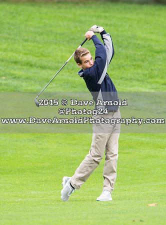 10/1/2015 - Varsity Golf - Dedham vs Needham