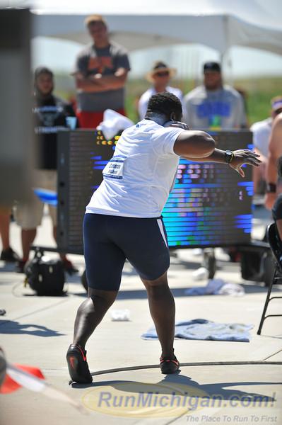 Men's Shot Put - 2014 NCAA II Outdoor T&F