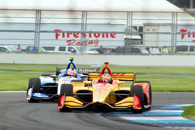 Indycar GP Warmup - Indianapolis Motor Speedway - 12 May '18