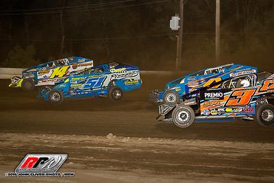 Bridgeport Speedway - 8/31/19 - John Cliver