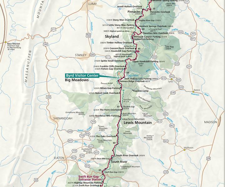 Shenandoah National Park (Central Section)