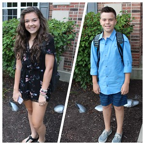 Aug. 24: First Day Of School 2017
