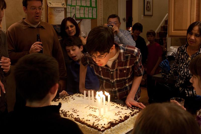 Joshua Berenzweig Bar Mitzvah party (Dec 18, 2010)