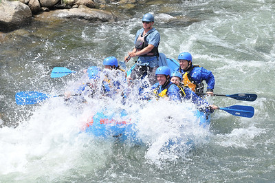 CO White Water River Rafting
