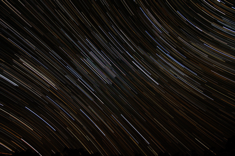 Orion Trails - 14/12/2015 (Processed stack)