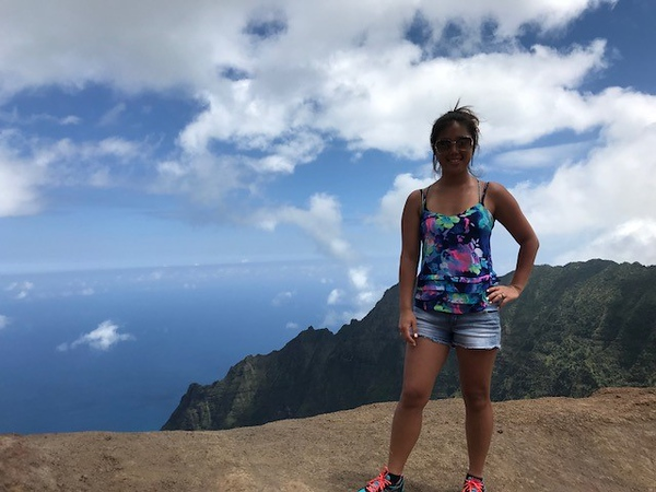 Christi Breslin - Hiking at Waimea Canyon