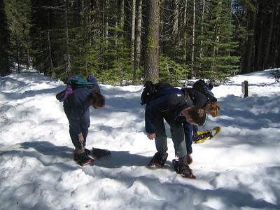 Snowshoeing - 3/10/07