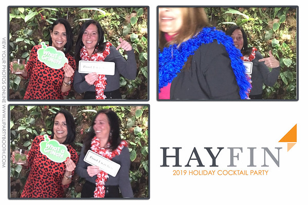 Hayfin Capital Holiday Cocktail Party 2019