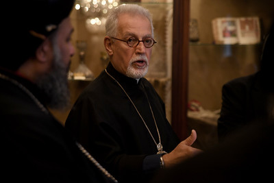 Lunch Honoring Syriac Patriarch, Diocesan Center, New York City, March 1, 2017