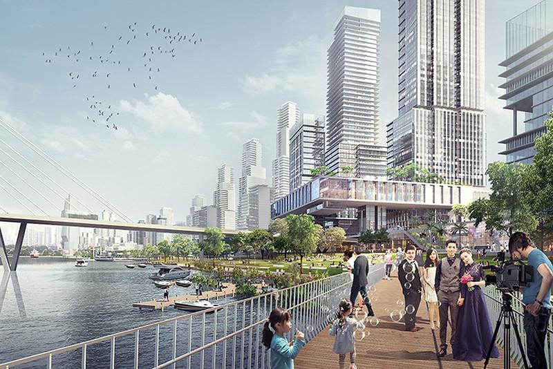 District 4 Riverfront Redevelopment - Bridge
