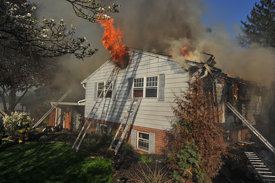 Building Fire - Springfield Twp.