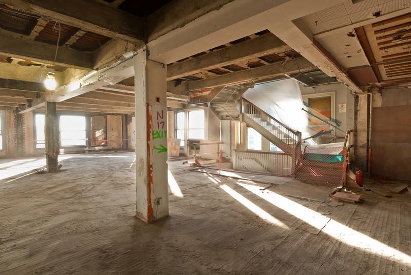 construction documention, SAGE project - demoliton phase