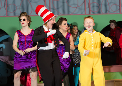 Seussical Tech week & live shows
