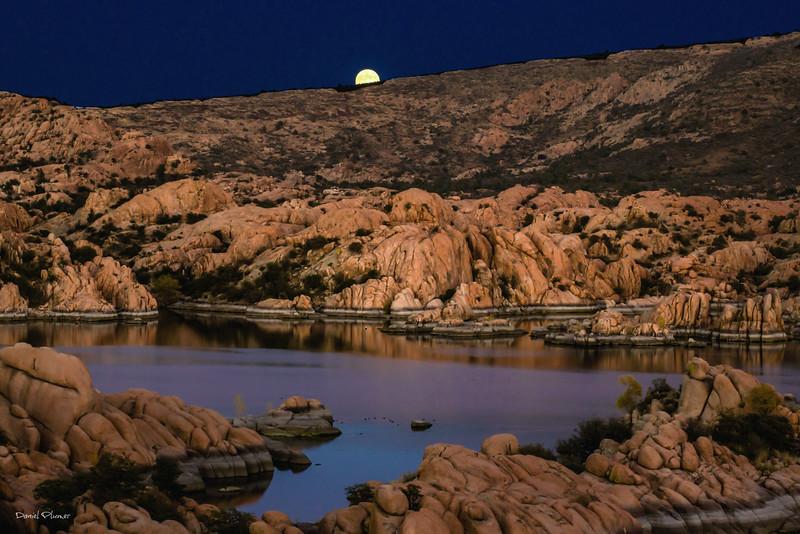 Moonrise Over The Dells II