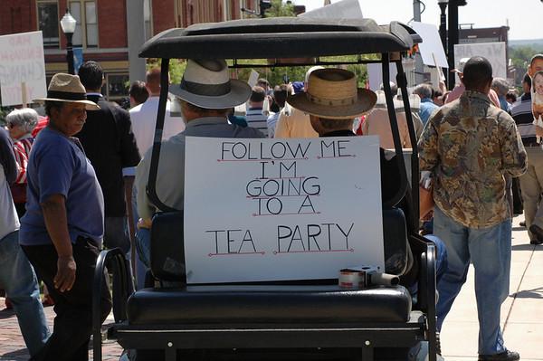 TEA PARTY  Macon, Georgia 4/15/2009