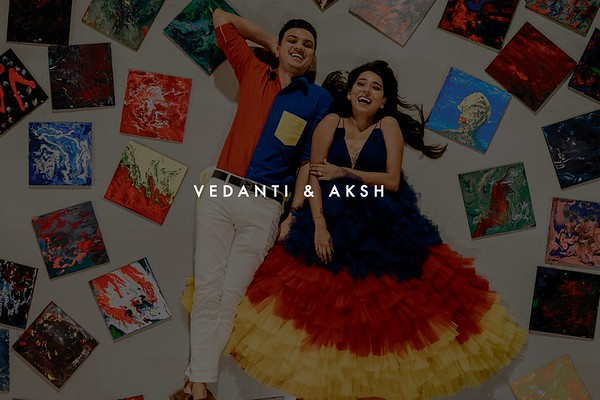 Vedanti and Aksh | Ahmedabad