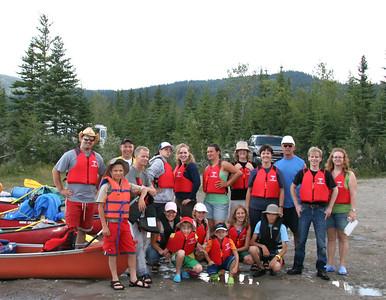 Canoe Trip Nordegg