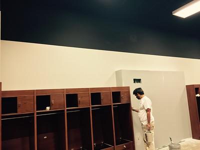 Baseball Locker Room
