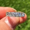 1.65ctw French Cut Diamond -Stone Band, by Single Stone 5