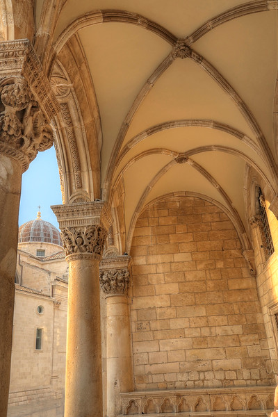 The late 15th century Rector's Palace - Dubrovnik