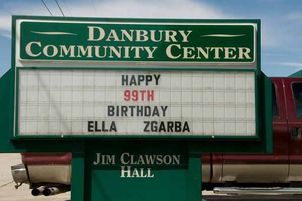 Ella Zgarba's 99th Birthday Party 7/9/11
