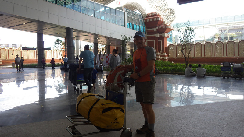 On November 12. I flew from Melbourne, Australia to just reconstructed Ngurah Rai airport in Denpasar, Bali.  It was 6 hours flight (Virgin Australia – Boeing 737).