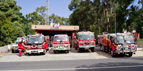 CFA The Basin, Christmas 2010