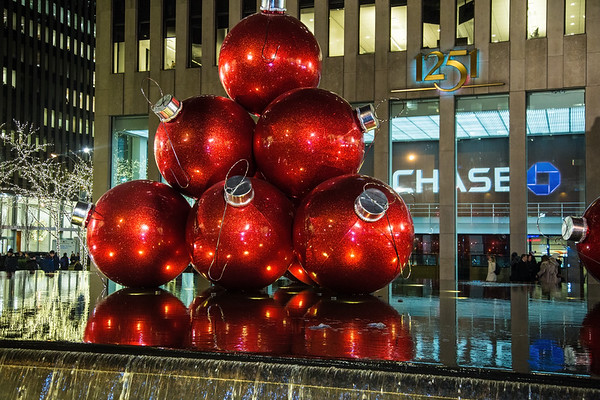 Christmas time in New York 2016