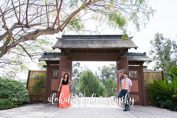 Alvy + Guillermo | Engagement Photos at Balboa Park