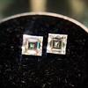 1.47ctw Carre Cut Diamond Pair GIA F VS2 9