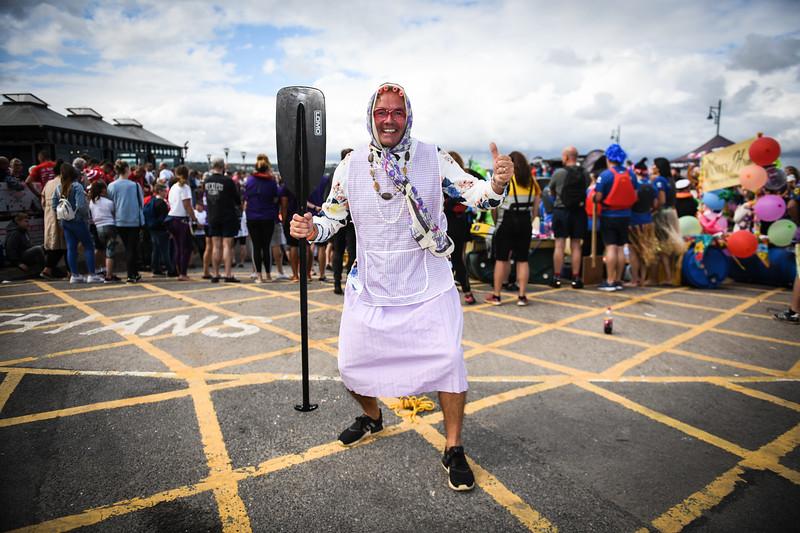 The Mumbles Raft Race 2019, Wales.