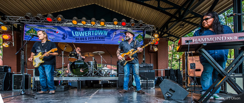 Walter Trout Band-Lowertown Blues Festival 2015-Mears Park-St. Paul MN