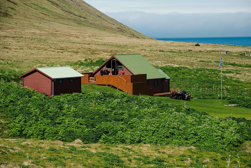 Aðalvík - Sæból. Garðar 2013.