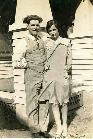 Reta and James Haskins, Just the two of them.