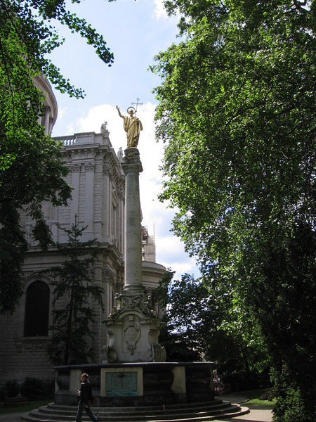 St. Paul's Cross, St. Paul's Cathedral, London
