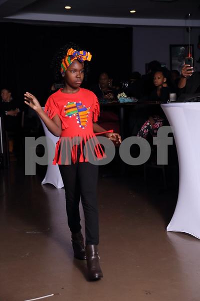 Daisy Azille Fashion Show