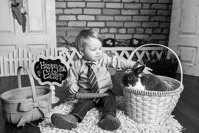 Jack's Easter Portraits