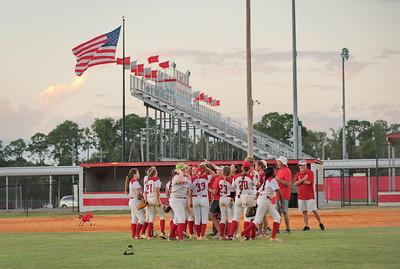 BHS vs Monticello Softball 2020